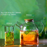 1.8L Short Mouth Hot Water Bottle, Cold Water Kettle, Glass Pitcher