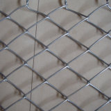 Hot-Dipped Galvanized Diamond Chain Link Fence