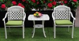 Best Selling Cast Aluminum Outdoor Furniture Bistro Set, IVY White for Terrace Balcony Swimming Pool