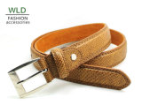 Classic and Basic Man Belt with Split Leather Linning M531