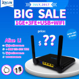 WiFi+1ge+3fe Gpon ONU for Zte F660 F600W Huawei Hg8245h Hg8346m