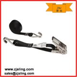 "1"" Double J Ratchet Strap 1"" X 10′ Stainless (customized)"