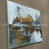 Hot Handmade Oil Painted Abstract Picture for Home Decor (LH-214000)
