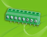 PCB Screw Terminal Block with Right Angle Pin Header