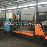 Factory Price Wedge Wire Johnson Continuous Slot Water Well Screen Welding Machine