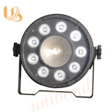 RGBW LED 9*3W PAR Light with 8 Channels