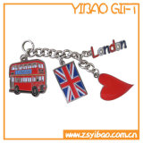 London Bus Customized Metal Keychain (YB-Mk-12)