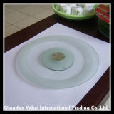 Kitchenware Clear Rould Glass Plate