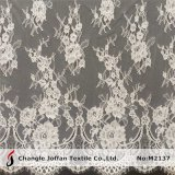 Allover French Swiss Voile Lace for Bridal Dresses (M2137)