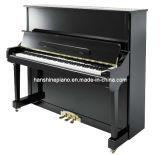Chloris Ebony Polish Upright Piano (HU-131E)