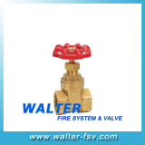 Brass Thearded Gate Valve
