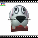 Amusement Kiddie Ride Little Dog with Music and Video