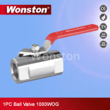 1PC Tube Type Ball Valve with 1000wog