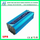 DC12/24V 3000W UPS Pure Sine Wave Solar Power Inverter with Charger (QW-P3000UPS)
