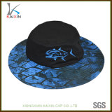 Custom Screen Printing Wide Brim Boonie Bucket Hat with Embroidery Logo