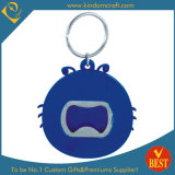 Wholesale High Quality Cheap PVC Key Ring Bottle Opener with Special Logo From China