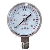 Use No Oil Pressure Gauge