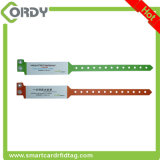 One-time use PVC RFID ID WRISTBAND For Patient Tracking