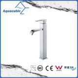 Chromed Brass High Body Zinc Lever Bathroom Sink Tap (AF6033-6H)