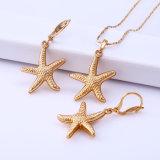 Hot Sale Xuping 18k Gold Star Jewelry Set (61603)
