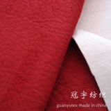 Embossed Elephant Skin Microfiber Polyester Suede Fabric for Sofa