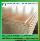 18mm E1 Grade Wooden Color Melamine Faced Particleboard for Construciton and Furniture