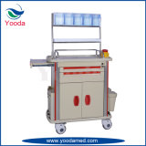 Hospital Use Emergency Medical Furniture Nursing Anesthesia Trolley