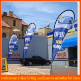 Custom Outdoor Advertising Teardrop Flag (JM-BF009)