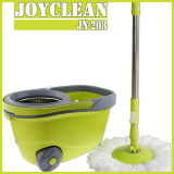 New Arrival Big Wheel Walkable Joyclean 360 Spin Magic Easy Happy Mop with Wheel