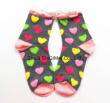 Customize Wholesale Cotton Top Quality Beautiful Ladies and Girls Tube Sock
