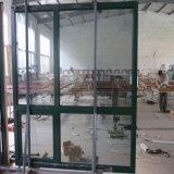 Solid White Oak Wood Double Glazing Aluminum Wood Window