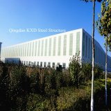 Prefabricated Light Steel Structure Warehouse with Crane