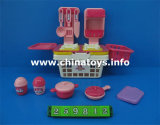 Plastic Combination Set, Tea Set Toy, Cooking Set Toy (259812`)