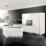 2015 High Quality White Lacquer Kitchen Cabinet