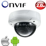 1080P HD Onvif Vari-Focal Vandal-Proof IR Dome Megapixal IP Camera