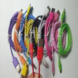 Nylon Cord Micro USB Cable for Samsung