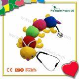 Caterpillar Plush Stethoscope Cover for Kids