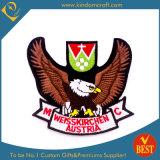 Custom Austria Brown Eagle Embroidery Emblem (LN-0162)