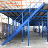 Steel Structure Garret Rivet Rack System with Lift Platform