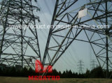 500kv Four Circuit Heavy Angle Tension Transmission Line Tower