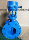 Metal Hard Seal Triple Eccentric Flange Butterfly Valve with Gear