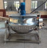 200 Liter Industrial Electric Cooking Pot with Mixer (ACE-JCG-063127)
