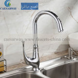 Single Lever Brass Kitchen Faucet