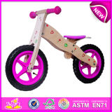 Top Quality Wooden Balance Bike Toy for Kids, Funny Wooden Toy Bike for Children, Hot Sale Cheap Wooden Bike Toy for Baby W16c093
