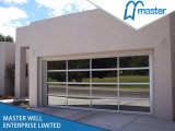 Automatic Garage Door with Aluminum Frame and Mirroe Panel