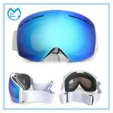 New Customized Ultraviolet Anti Fog PC Ski Snow Goggles