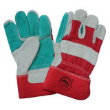 Reinforcement Cut Resistant Safety Leather Working Gloves