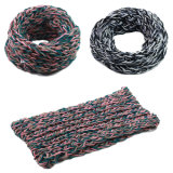 Womens Unisex Neck Warmer Fancy Thick Winter Knitted Loop Snood Scarf (SK149)