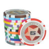 100 Chip Sets Chips with Texas Poker 21 Chips