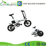 16 Inch Al Alloy Folding Electric Bike with Shimano 6 Speed